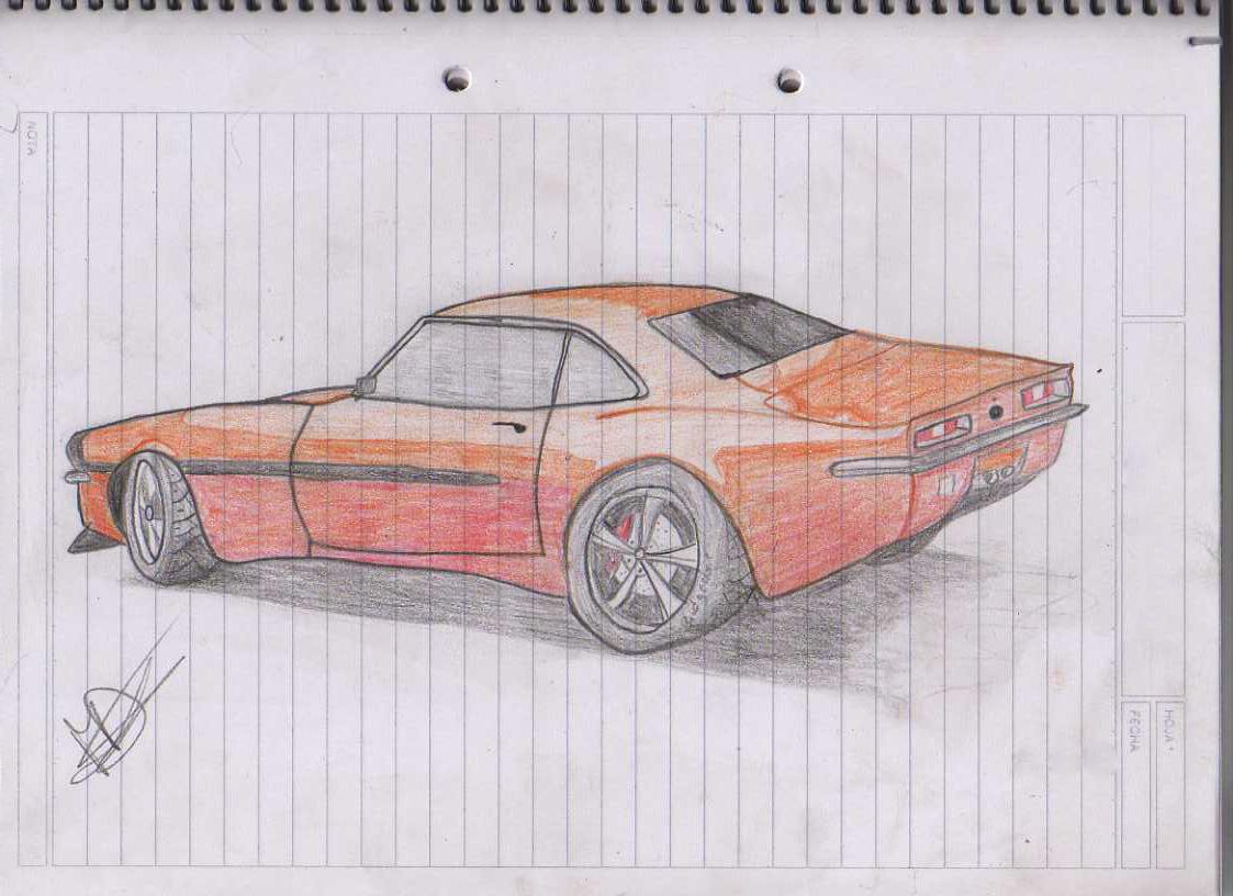 Nissan 350z Y Shelvy Mustang