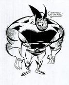 Wolverine, sacando filo   -10bnw-wolverine01.jpg