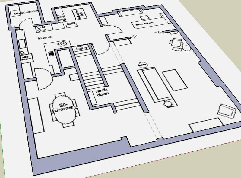 Sketchup hacer una casa con sketchup 3d for Como hacer mi casa en 3d