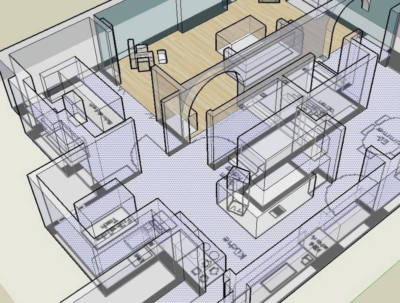 Sketchup hacer una casa con sketchup 3d - Construir casas en 3d ...