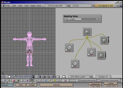 how to make a blender human