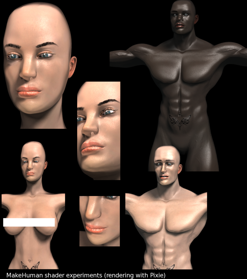MakeHuman:   Making   Humanoids Since 2000 -experiments.png