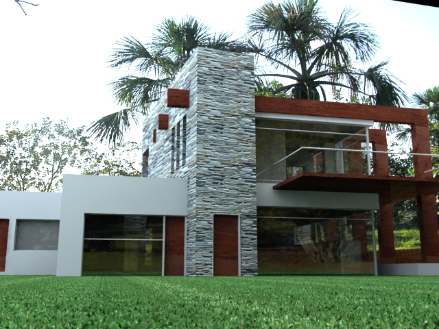 Hola elaborando renders en vray a ver como empiezo for Planos de casas sims
