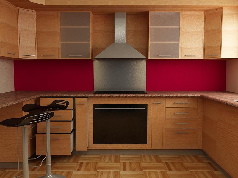Cocina Empotrada Render01 1color ...