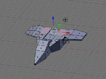 Modeling a Low Poly Space Ship-17.jpg