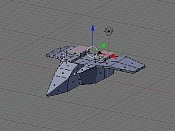 Modeling a Low Poly Space Ship-18.jpg