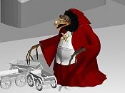 Skeksis personaje de la pelicula   Dark Crystal  -carretas.jpg