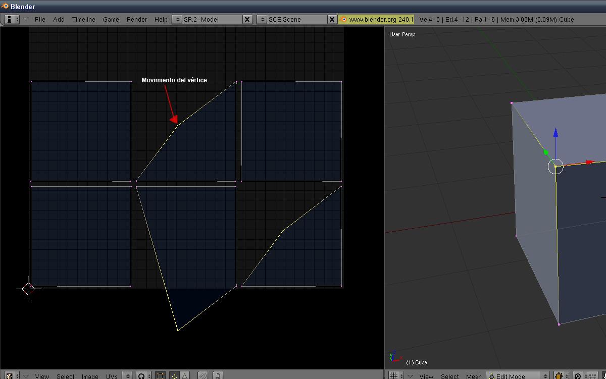 Blender 2 49  Release y avances -blender_uv2.jpg