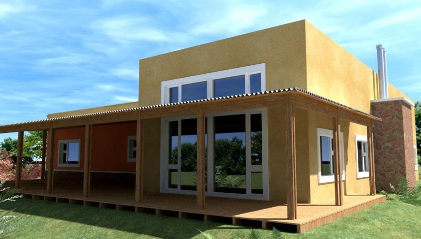 General fachada casa de campo for Fachadas modernas para casas de campo