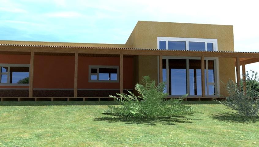 General fachada casa de campo for Fachadas de casas de campo