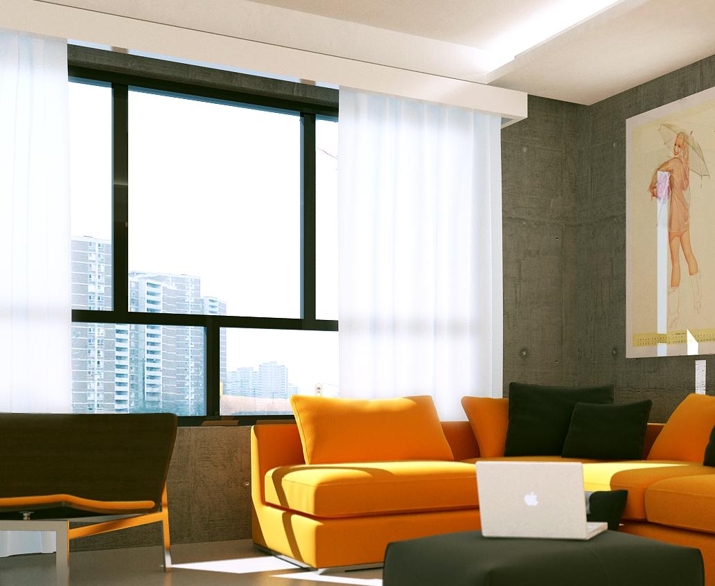Apartamento de soltero for Diseno de apartamento de soltero