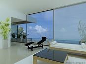 Casa en la Playa  Interior en Mental Ray-tecnosur.jpg