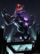 la bestia, y otros trabajos en ilustracion-the-beast-deviant.jpg
