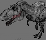 dinosaurio t_rex en proceso-rex_wireframe.jpg