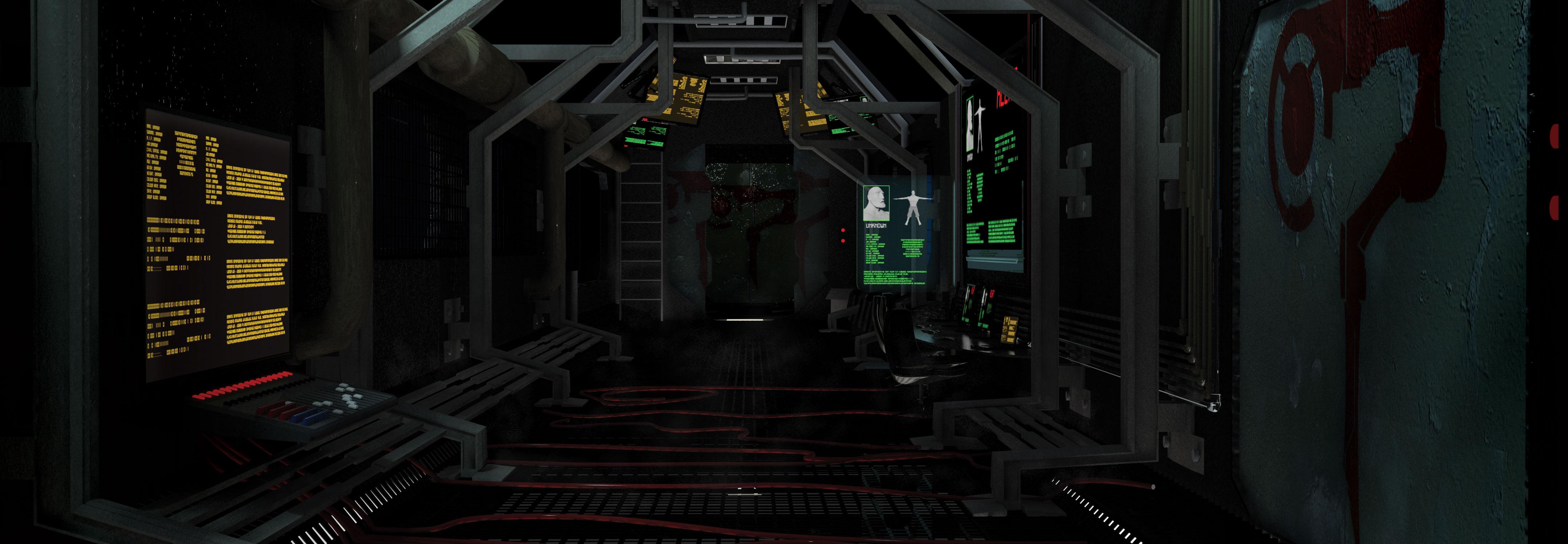 Interior De Ventana De Nave Espacial: Interior Nave Espacial