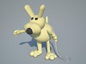 Modelar un cojin en Rhinoceros-perro.png