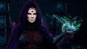 Bless of Dark Souls-bruja-capa-y-craneo-cg-talk.jpg