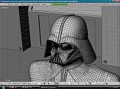 Reto de Diseño 3D  Star Wars   para todos los usuarios -vader-wire.png