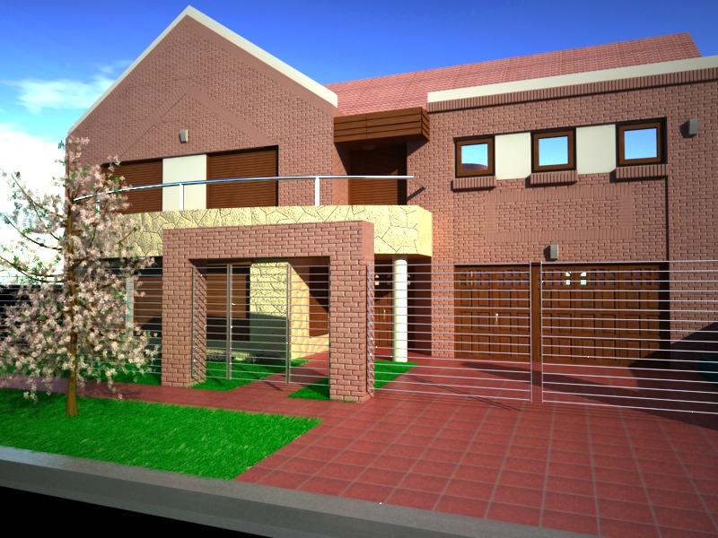Casa for Rejas para frente de casas fotos