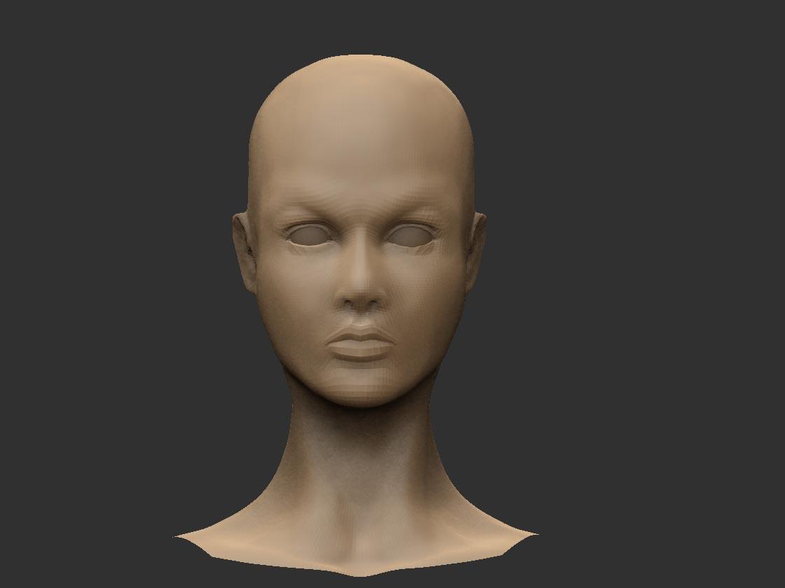La máscara para los cabellos de la alopecia a la mujer
