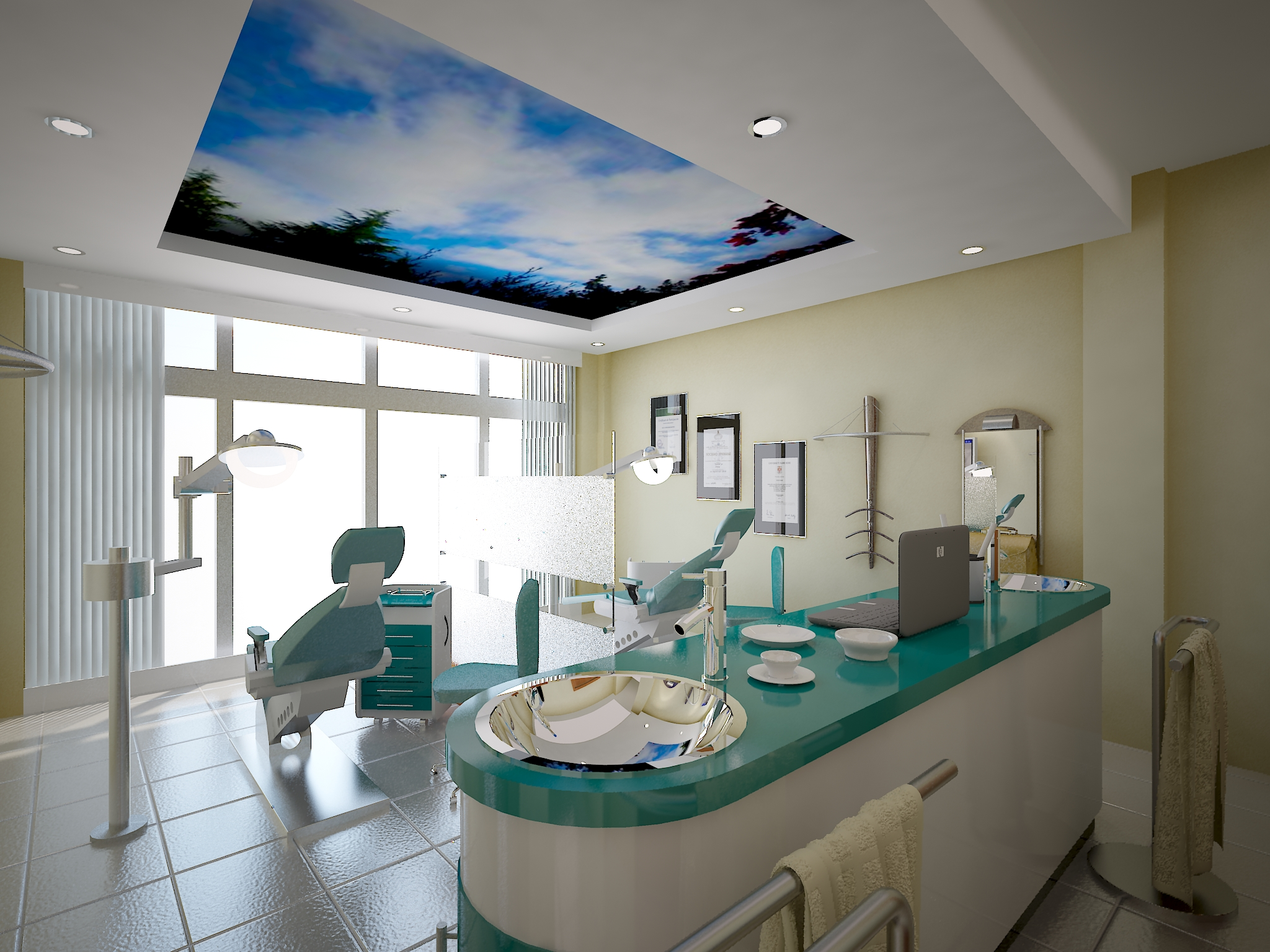Clutter free dental office...what a novel idea! | Ideal Cosmetic ...
