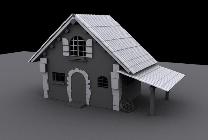 Mi primera casa falta texturizado - Mi primera casa ...