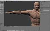 Escultura humana Rig gratuito  desnudez, planeando rig de musculos reales, BlenRig -snapshot1.jpg