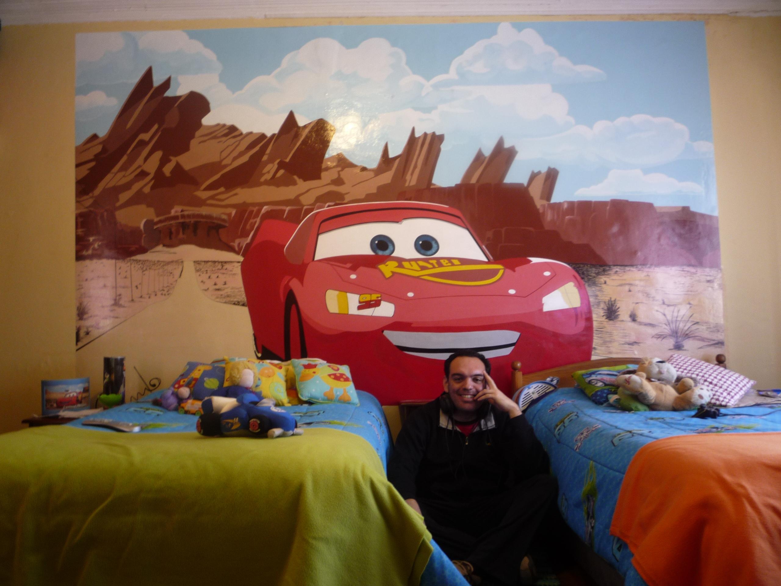 General cars en el dormitorio de mis hijos - Dormitorios de cars ...