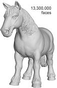 Optimizar y reducir poligonos con Balancer-horse_full.png