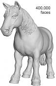 Optimizar y reducir poligonos con Balancer-horse_400k.png