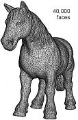 Optimizar y reducir poligonos con Balancer-horse_40k.png