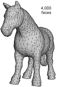 Optimizar y reducir poligonos con Balancer-horse_4k.png