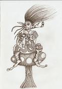 Gnoblar,,, y varios bocetos-elfo_seta_bn.jpeg