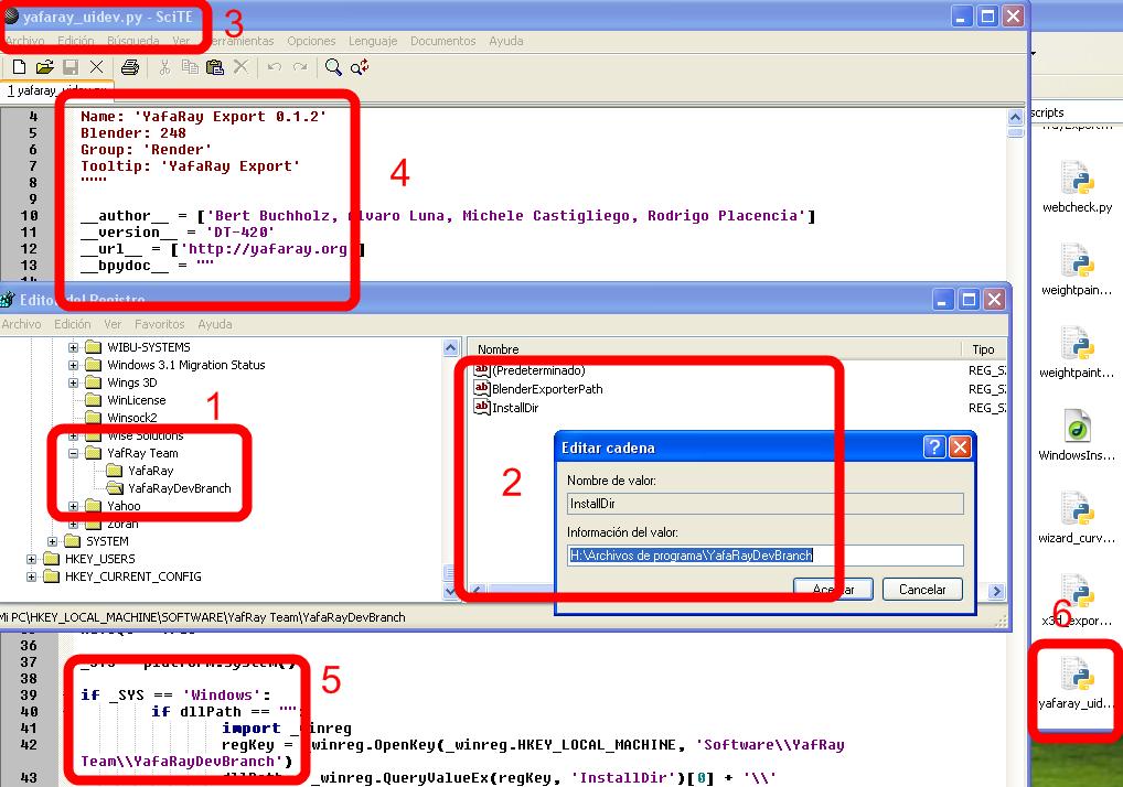 Instalar juntos Yafaray 0 1 1 y Yafaray DT-420, version en desarrollo-solucion_yaf_dt.png