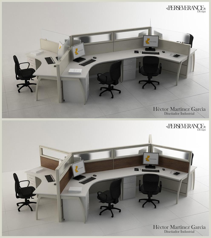 Muebles de oficina for Muebles de oficina 3d autocad
