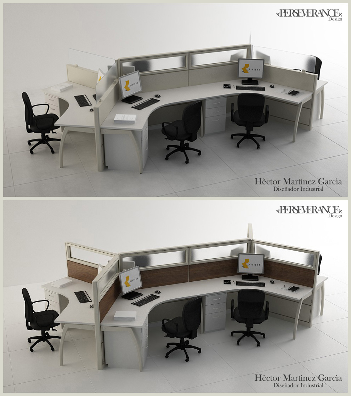 Muebles de oficina for Modulos para oficina