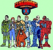 The centurions - ace McCloud con Skyknight-centurions.jpg