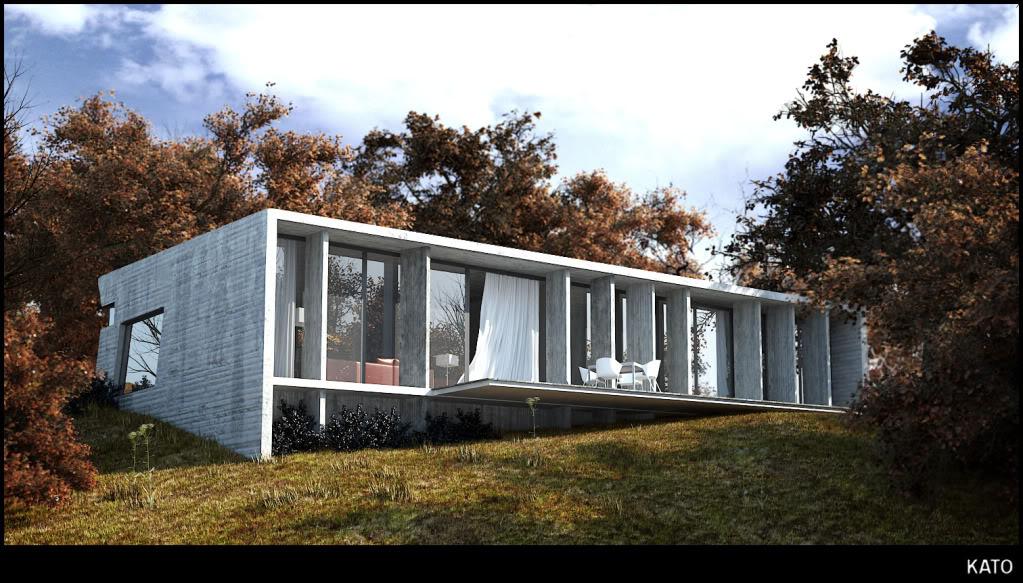 Casa de hormigon for Casas de hormigon asturias