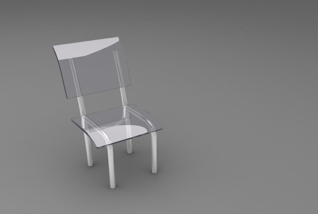 3ds max tutorial para principiantes crear una silla de for Sillas para una mesa de cristal