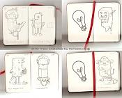 MOLESKINE_para amantes de las Moleskine-2010-firsts-sketches-by-herbiecans.jpg