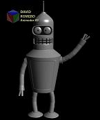 Modelo de Bender futurama novato en XSI-bender.png