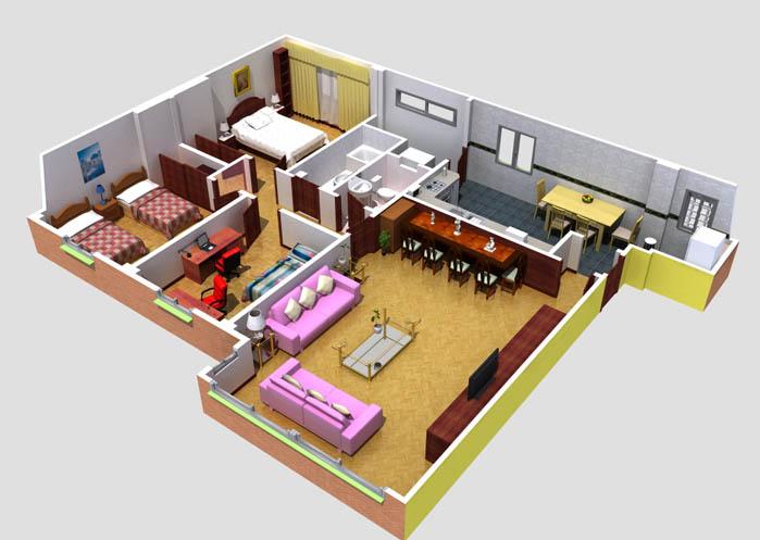 Casa residencial familiar diseno de la casa www diseno 3d for Programa para disenar cuartos