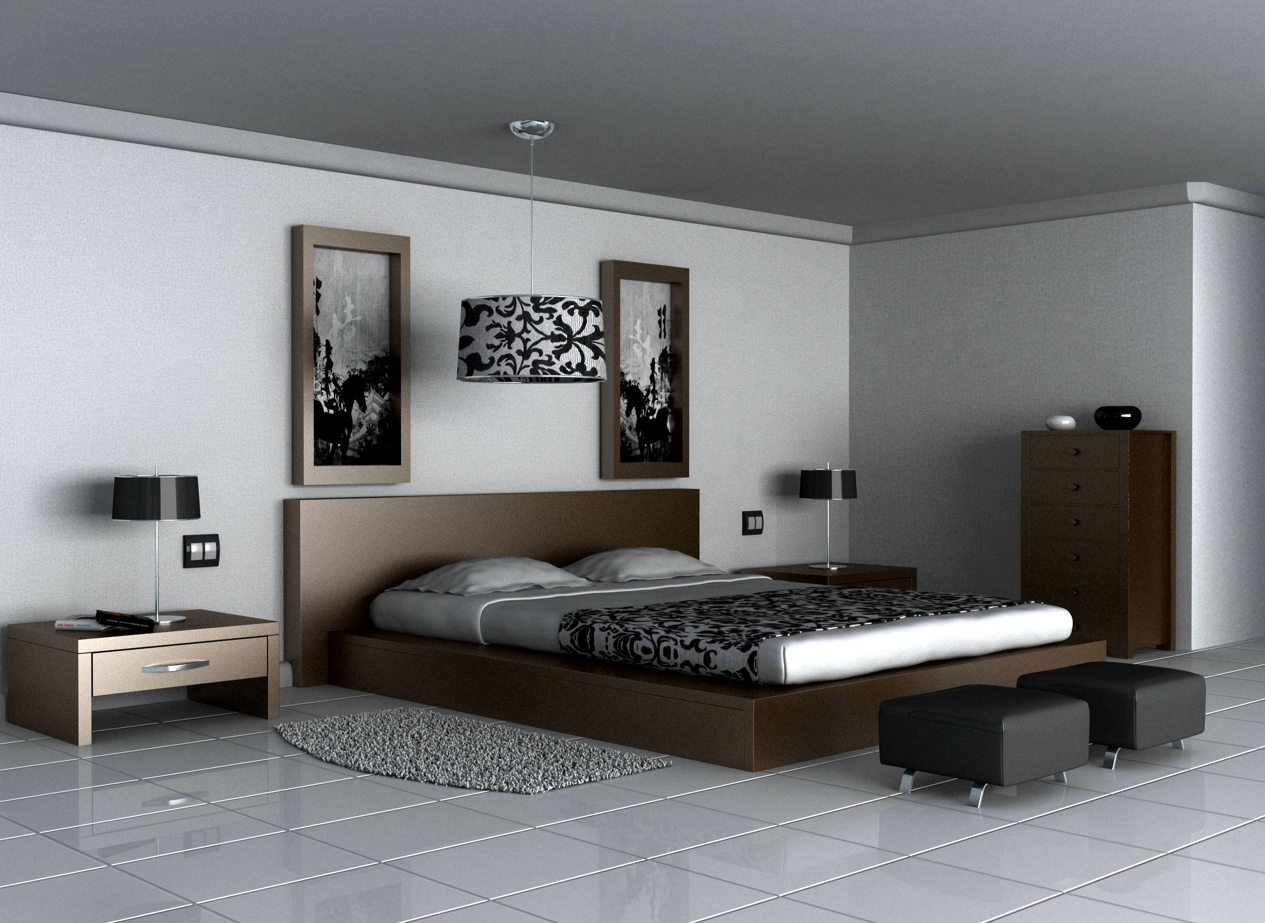 Dormitorio interior - Ideas en decoracion de interiores ...