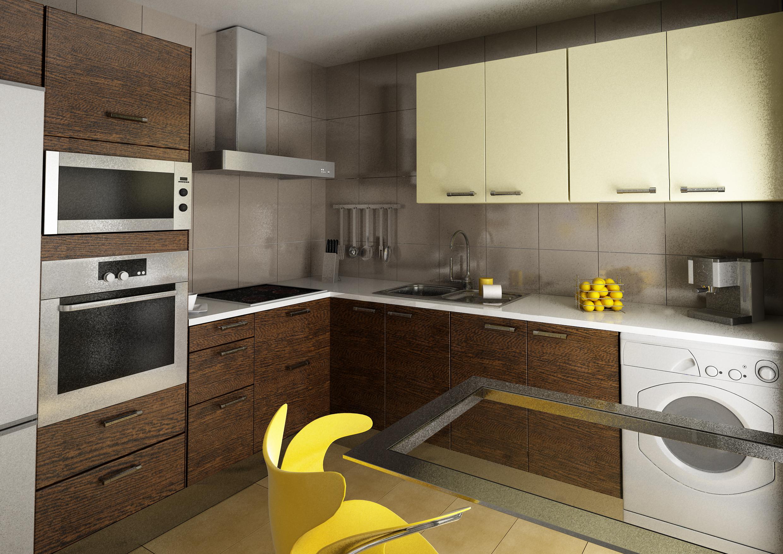 Interior comedor cocina y terraza for Cocinas y comedores