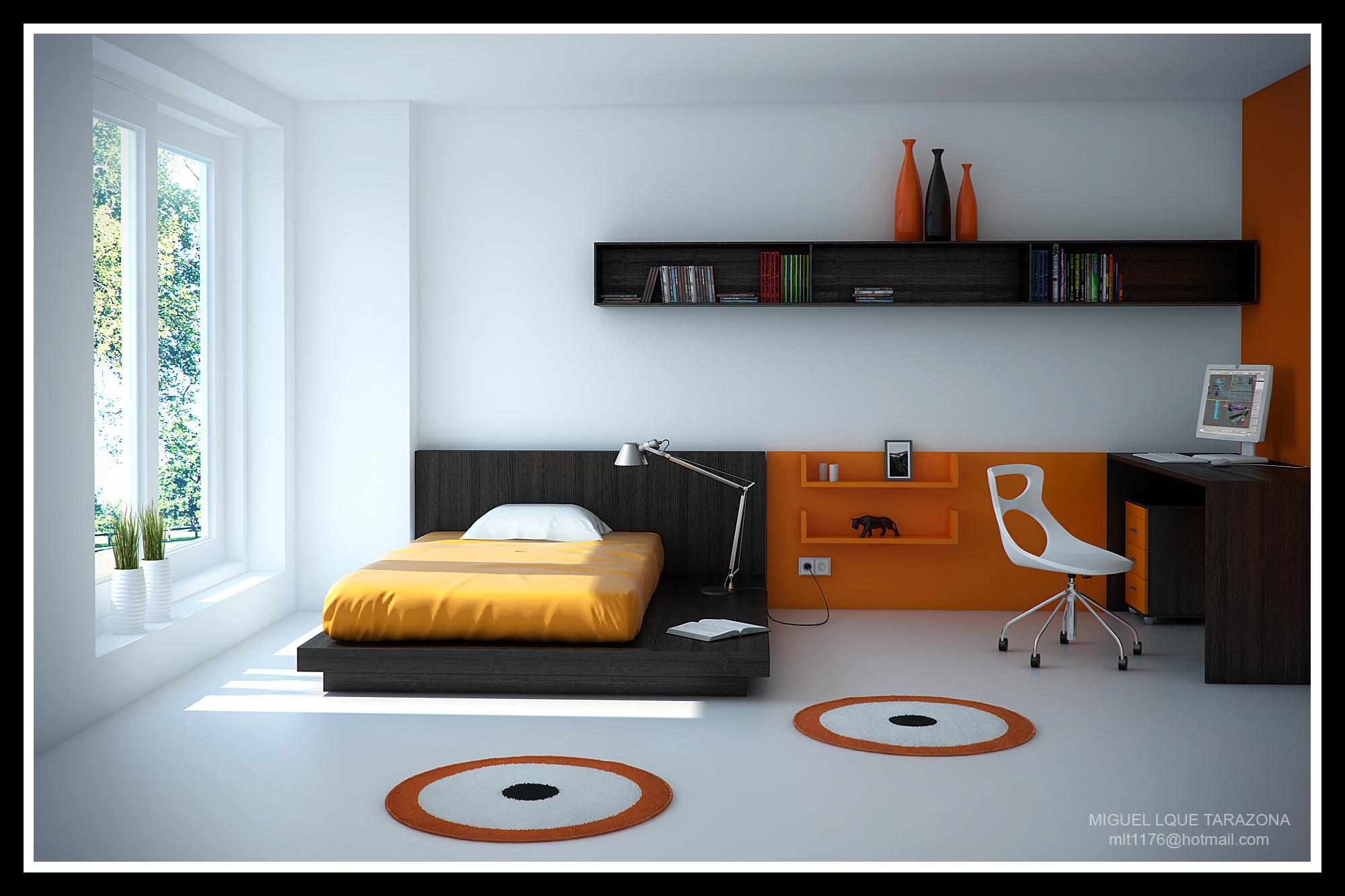 Dormitorio juvenil p gina 2 for Decoracion de dormitorios para varones