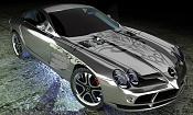 Mi Mercedes Benz Slr Mclaren en 3d-textura.jpg