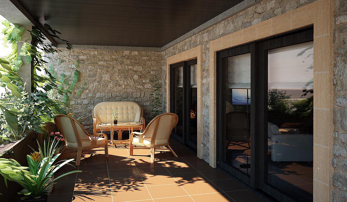 Ambiente casa rustica moderna en mallorca - Casas rusticas mallorca ...