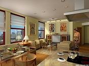 Interior Salon-estar  condominium  -condo02b.jpg