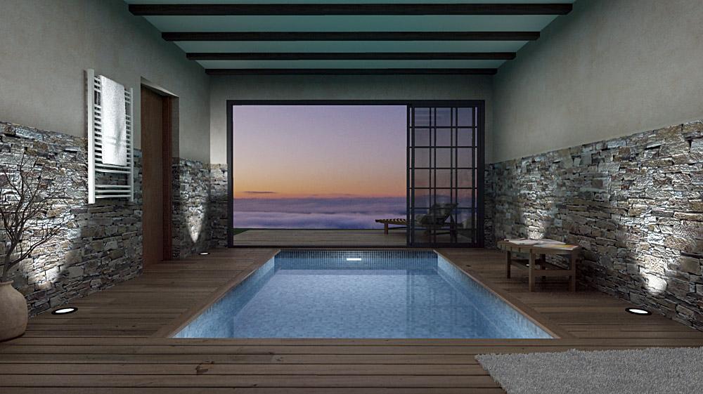 Casa en galicia - Piscinas interiores climatizadas ...