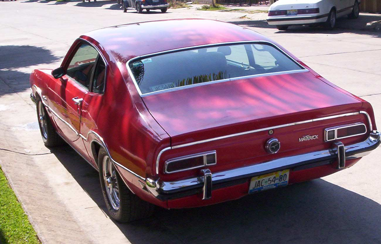 D Vendo Ford Maverick Pequeno Comercial Maverick on 1970 Ford Maverick
